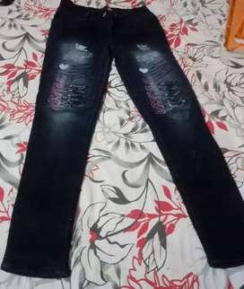 Black jeans for kid girls