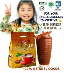 Cocozhi herbal product chocolate flavor very amazing