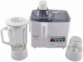 Panasonic juicer blender 3in1warranty 2 year