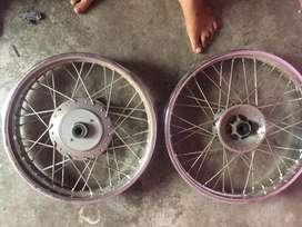 Royal enfield stock alloy wheel