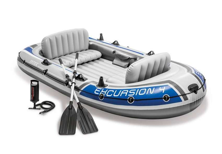 Intex Excursion Inflatable Boat 0