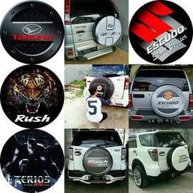 Cover/Sarung Ban Toyota Rush/Terios/Panther/CRV Sendiri Disini Aja Kam