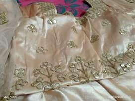 Beautiful peeche colour lahnga dress ..