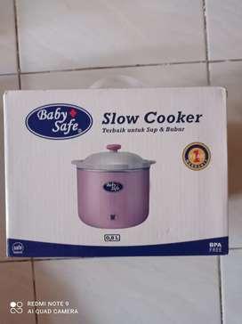Jual slow cooker baby safe 0,8 L