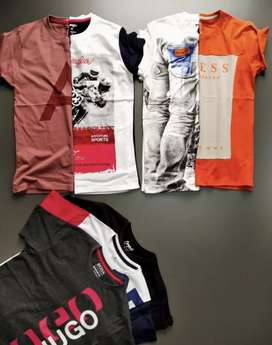 Top Branded Round Neck T-shirts @50% OFF