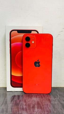 Apple iPhone 12 128GB Red colour with apple WARRENTY