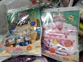 Party and craft items, pastel ballons arrived