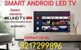 SMART ANDROID 4K LED TV IN ADORABLE PRICE WITH 3 YEARS WARRANTY