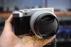 Kamera Mirrorless fujifilm X-A20 Lensa 15-45mm Af Touchscreen Fullset
