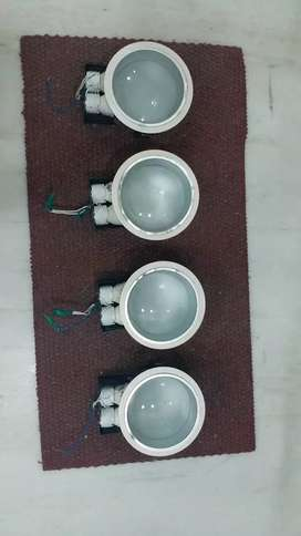 04 pc Fall ceiling lights n HavelSpiral cfl 8 pc