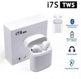 Earphone bluetooth 2 kuping i7s original