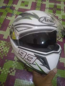 Helm ori kawasaki seri zx25r modif model arai