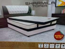 Tempat Tidur Springbed Sweetland Sharmila Toper 6kaki Original