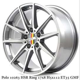 jual POLO 10263 HSR R17X8 H5X112 ET35 GMF