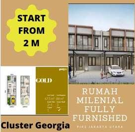 START FROM 2 M! RUMAH MILENIAL MURAH PIK 2 JAKARTA UTARA