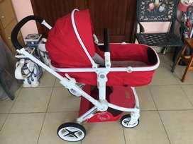 Stroller BabyElle OASIS Red murah kondisi bagus
