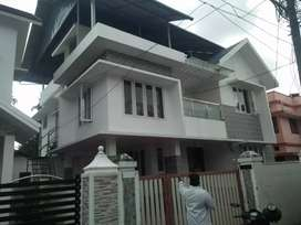 Ready to occupy 2 bhk 1st floor  at paravur kavala main road 200 mtr