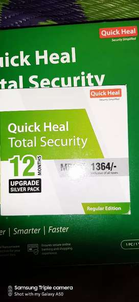 Quick heal upgrade 12 month pack