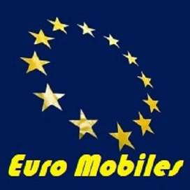 Euro Mobiles offer Ever Lowest prices on All PTA Aprovd Mobile Brands