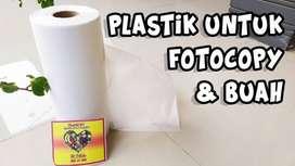 Plastik Buah / Plastik Fotocopy / Plastik HD Roll 25x38