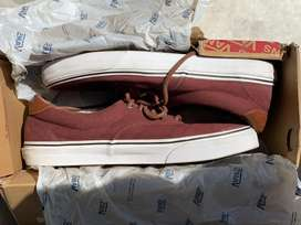 Vans era 59 maroon shoes size 11uk with box