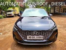 Hyundai Verna CRDi 1.6 AT SX Plus, 2020, Diesel