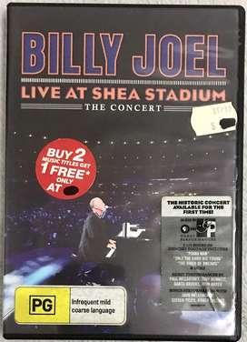 DVD ori import Billy Joel Live