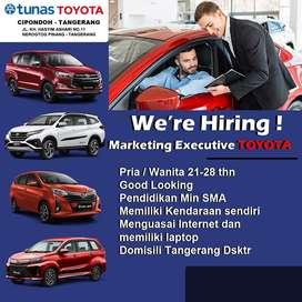 Lowongan Salesman marketing Toyota Cipondoh