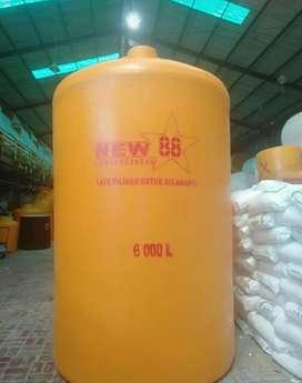 Tandon air Sukoharjo toren 5000 liter bahan plastik