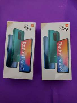 Xiaomi redmi note 9 (6/128) new spesial banyak promo