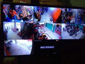Komplit + Pasang 1080P/2MP CCTV Hasil Jernih