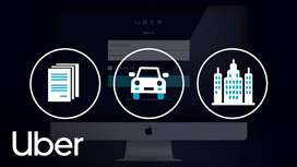 Taxi cars on lease from uber