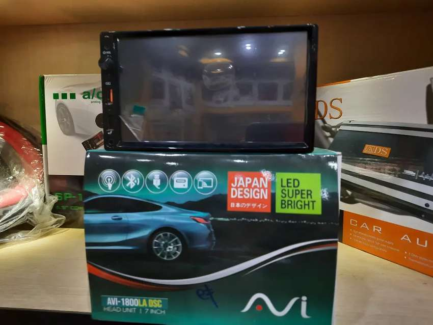 TV mobil 7inchi layar sentuh, AVI, mirorlink, usb, radio, mp3, mp4 0