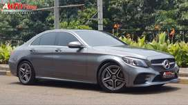 Mercedes Benz C300 AMG Line Facelift  tahun  2019 KM 3Rb !!!