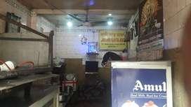 Tea shop at Bidhan sarani
