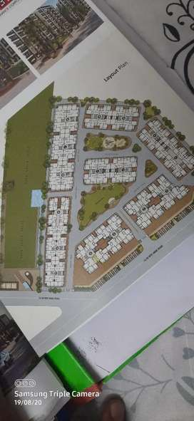 3 BHK semi furnished prime location apartments.