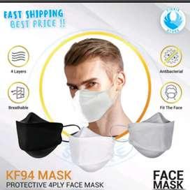 Masker KF 95 warna putih