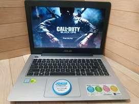 Laptop Asus A456U Core i5 Skylake Siap Game & Design