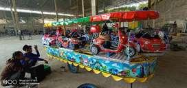 odong kereta mini coaster lampu hias sepeda air bebek kayuh odong EK