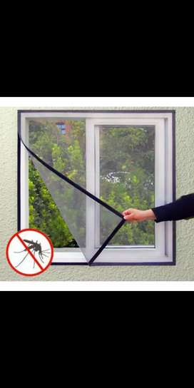 Window mosquito net, curtain, blinds, wall paper, available