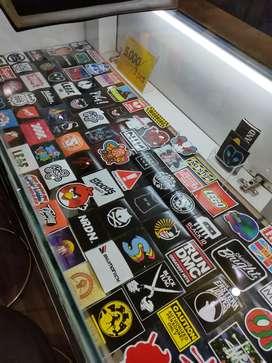 Stiker Vinyl Sticker Mobil Motor Gitar Kaca