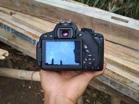 Canon 700D Lensa Kit 18.55mm STM Lengkap Box