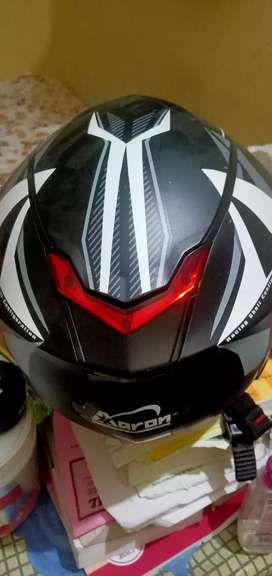 New helmet branded Aaron company ka