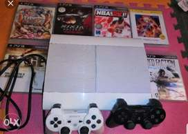 Ps3 consoles with games n controller with