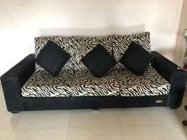 3+1+1 sofa for sale - almost new