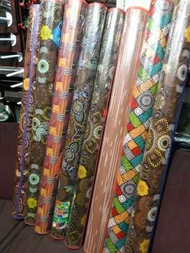 Tikar Karpet Lantai Plastik Lipat Gulung Motif Karakter Plastik Bs COD