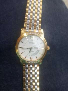 Newly Bought Citizen Multi-Colour White Dial Watch on sale.