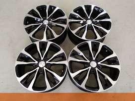 Jual velg seken Type Kagawa HSR Ring 17 For Corolla Altis & Sienta