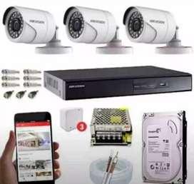 Pemasangan Kamera CCTV ONLINE KONEKSI VIA HP