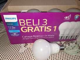 Lampu led philips 12 watt